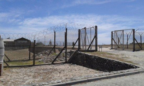 Ciudad del Cabo Central, Sudáfrica: Robben Island Prison gates