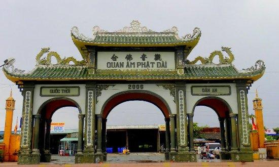 Bac Lieu, Βιετνάμ: Quán âm Phật đài Bạc Liêu