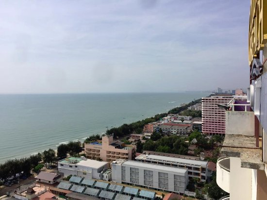 Golden Beach Hotel Cha-am: View point (20. Etage)