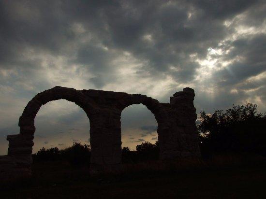 Dalmatia, Croatia: brána