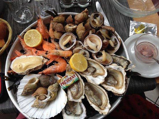 Au Vieux Logis : L'assiette Océane un régal !
