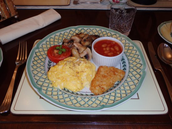 Budleigh Salterton, UK: Vegetarian breakfast