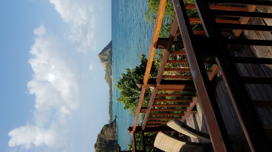 Cap Estate, Sainte-Lucie : Views from beautiful Cap Maison resort