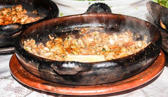 Oum Rabie - Restaurant & Bar : Shrimp Limon  Tagine