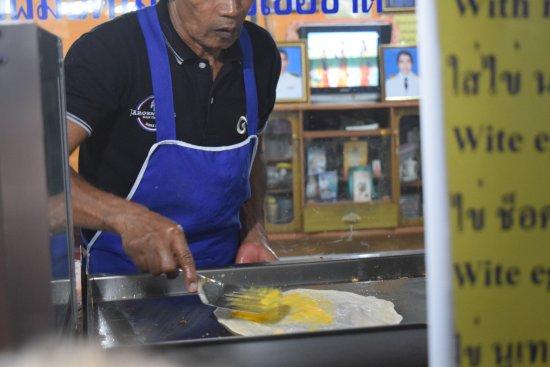 Pancake Man : Making it