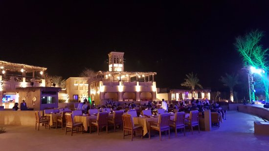 Main Outdoor Restaurant Picture Of Qasr Al Sultan Dubai