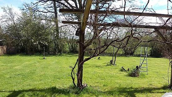 Videix, France: Private garden of The Gite