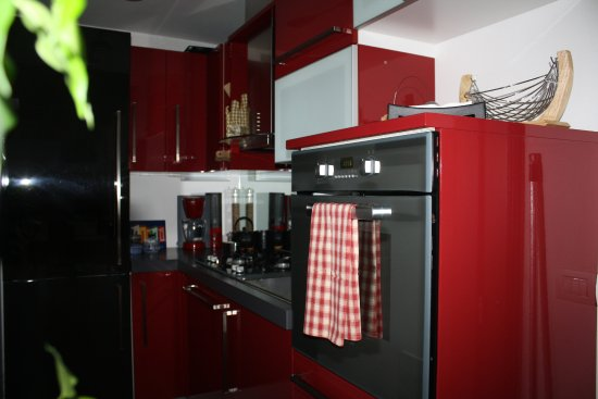 Nebbiuno, Italia: panorama cucina primo piano
