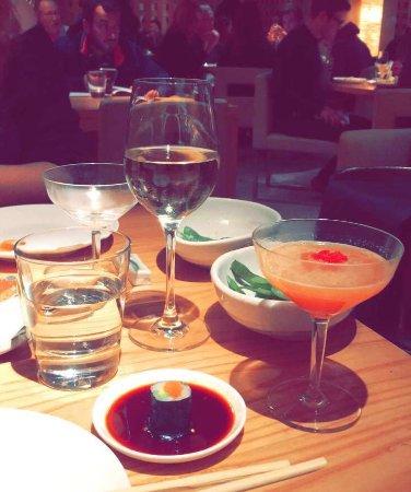 Zuma: Salted edamame, amazing sushi and the tastiest Passion fruit martini