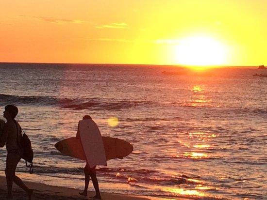 Casa Bambora: Amazing sunsets !!