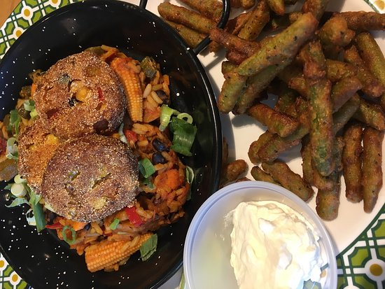Barlborough, UK: Veggie Jambalaya - Excellent!