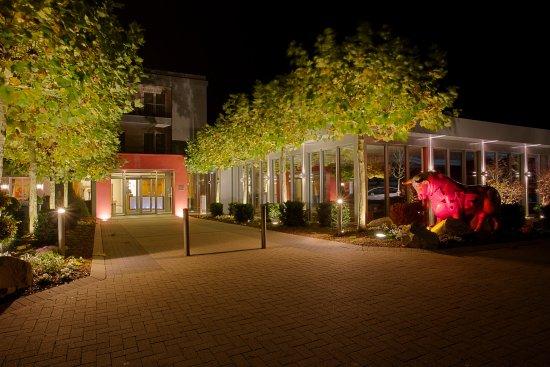 Hotel-Restaurant Kunz : Hoteleingang