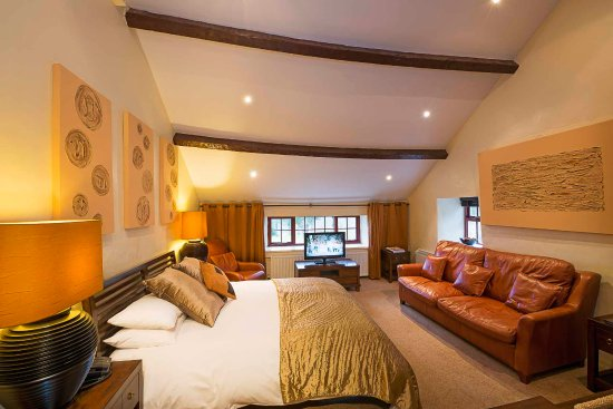 Capel Garmon, UK: The Hayloft room