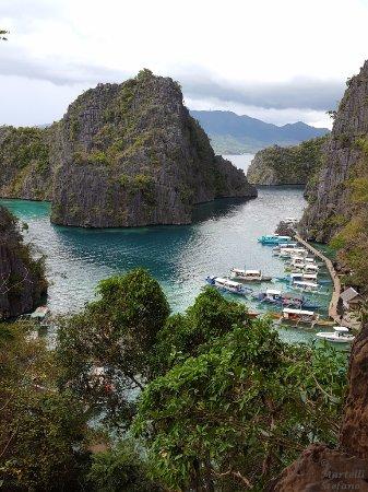 Kayangan Lake: La baia dall'alto