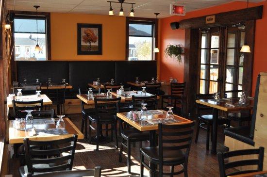 Maria, Canada: Restaurant