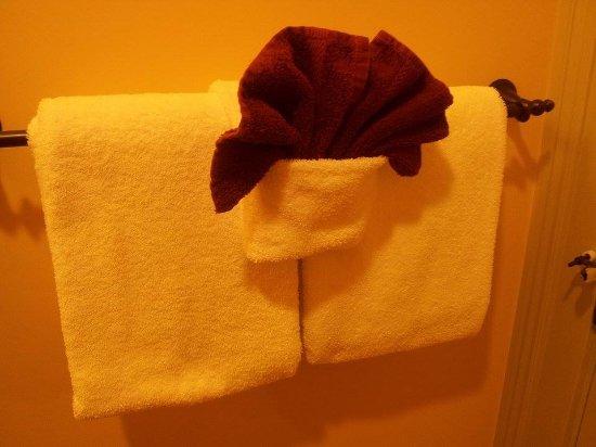 Del Norte, CO: deliziosa sistemazione degli asciugamani