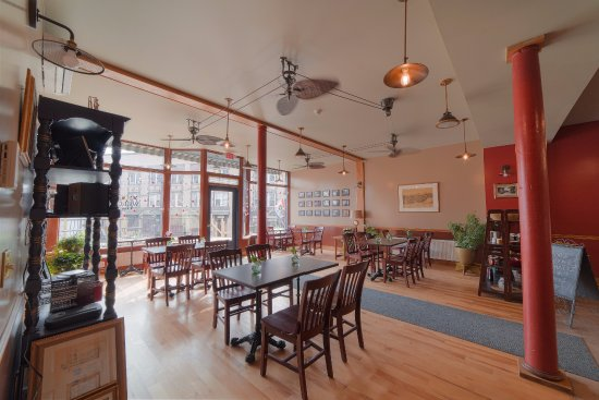 Red Brick Cafe Interior