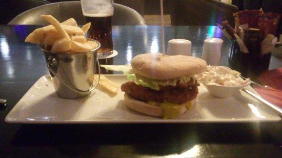 Hotel Kilkenny: hamburger e patattine