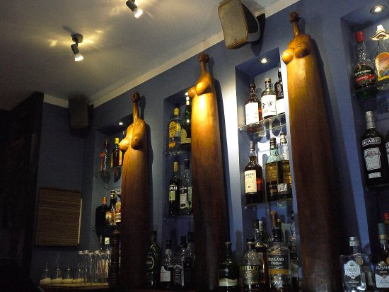 Restaurant Sakamanga: bar du sakamanga