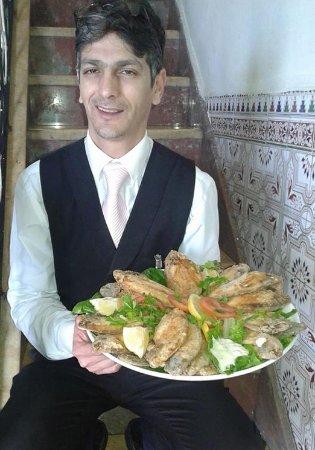 Oum Rabie - Restaurant & Bar : Fish dish !!!