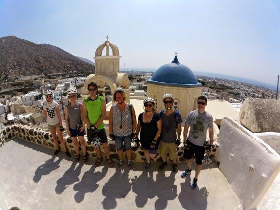 Καρτεράδος, Ελλάδα: Emporio village blue dome church