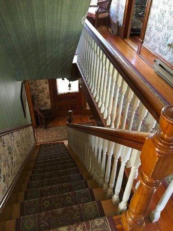 Bocabec, Canada: main staircase 2