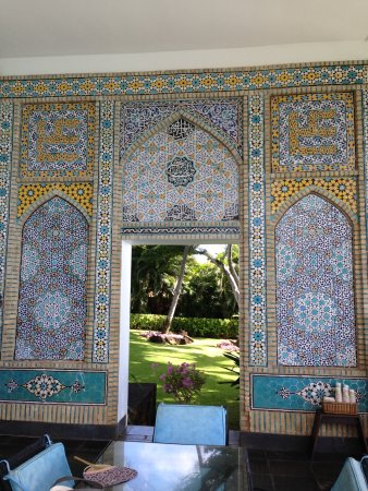 Shangri La : カラフルなモザイクタイル