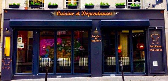 Cuisine Et Dependances Paris Opera Bourse Restaurant - Cuisines et dependances