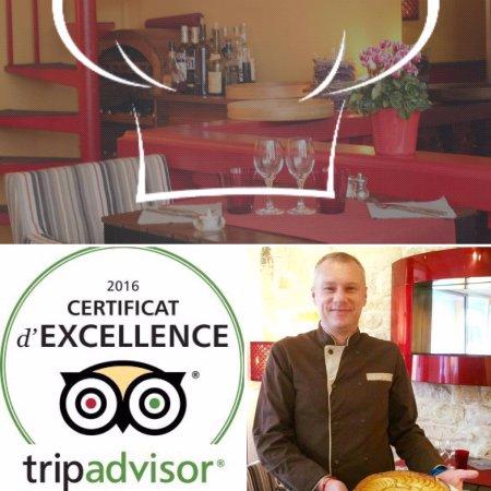 certificat d 39 excellence 2016 picture of cuisine et dependances paris tripadvisor. Black Bedroom Furniture Sets. Home Design Ideas