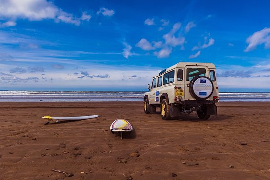 Saunton, UK: April 2017 private surf safari for the Bailey's
