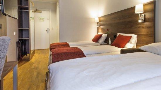 Best Western Oslo Airport Hotell: Standard quadruple