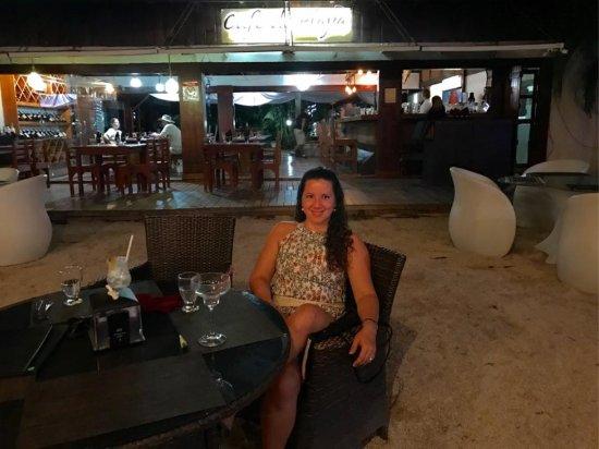 Café de Playa: Después del atardecer