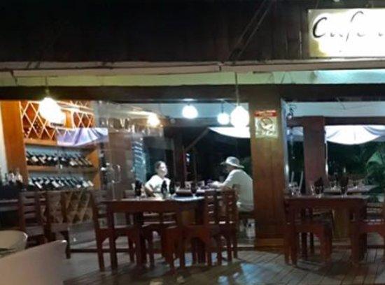 Cafe de Playa: Vista desde la playa