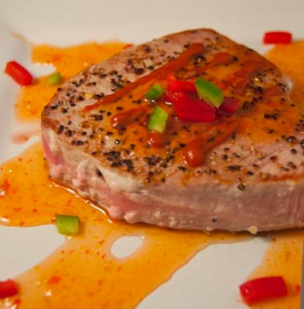 Stockton, IL: Ahi Tuna Steak