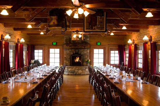 Clark, Κολοράντο: Dining Room at The Home Ranch