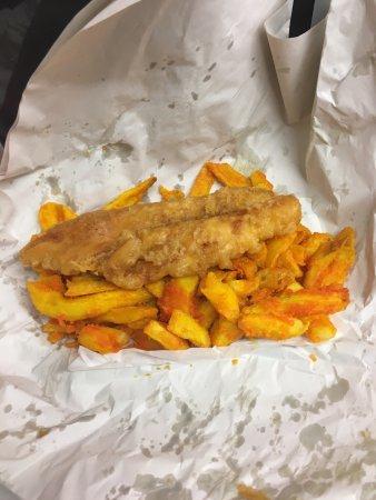 Bilston, UK: Major Fish Restaurant