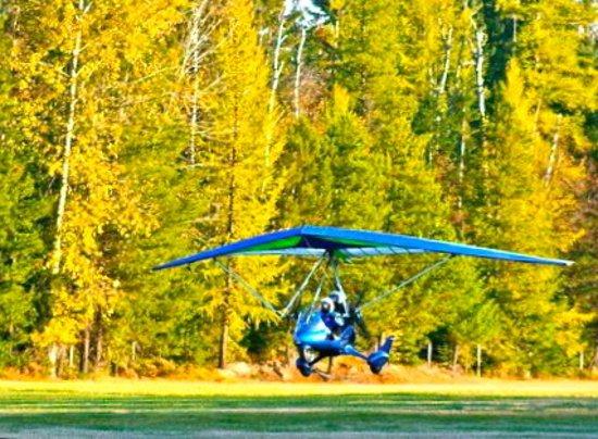 Take off from Bigfork