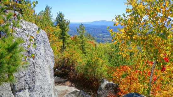 Monument Mountain: Mt. Greylock on a clear day