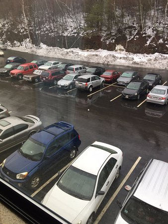 Fitchburg, MA: Garbage in the Parking Lot. No One Picked Up in Over Two Days