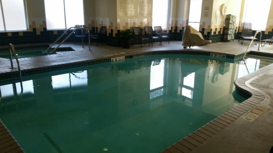 Another of pool and hot tub - Picture of Hilton Garden Inn Rochester ...