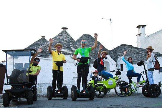 Segway E Bike Mini Golf Cart Tours Bild Von Allways Puglia