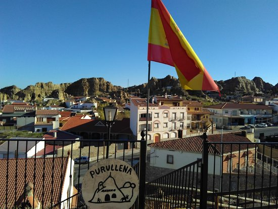 Purullena, España: View from top of the museum