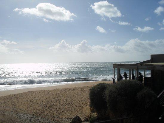 Praia da Coelha : strandje met tea-room