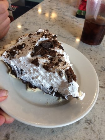 Londonderry, NH: Thin Mint pie!