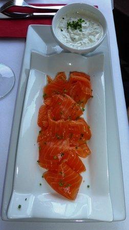 Mont Laurier, Канада: Great salmon gravlax