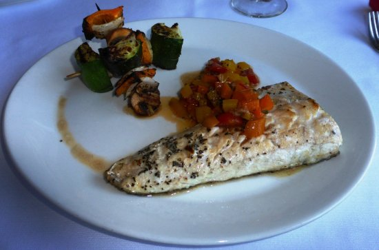 Le Grilladin : Grilled fish