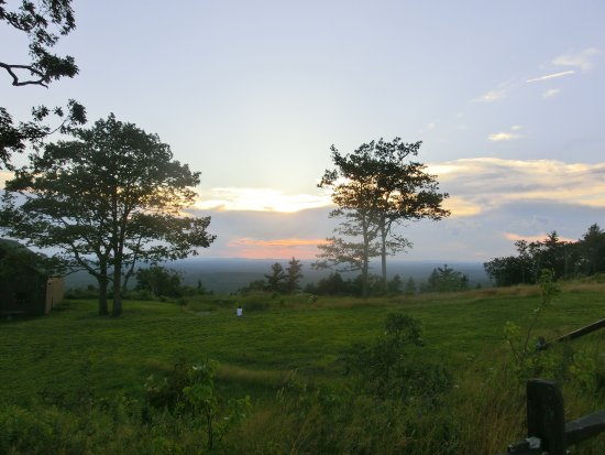 Sunset View From Mount Agamenticus, Maine