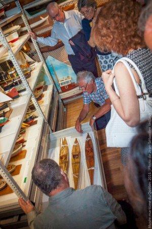 L'Islet, Canada: La réserve de plus de 200 maquettes lors d'une visite IciExplora