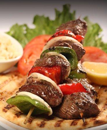 The Patio: Beef Tenderloin Kabob