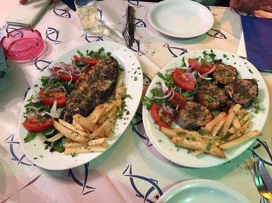 Myrties, Griekenland: Psarokatastasi Anna's Restaurant
